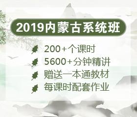 2019年内蒙古笔试系统