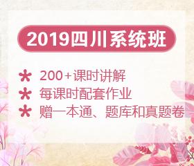2019年四川笔试系统班