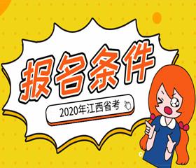 2020江西省考报名条件