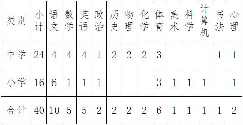 2020年海南文昌市文昌学校教师招聘40人公告