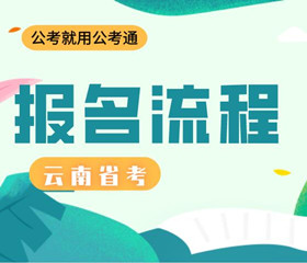 云南省考报名流程