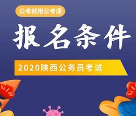 2020陕西省考报考条件