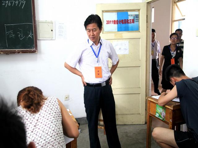 2014年山东济宁市属事业单位招考笔试顺利举行