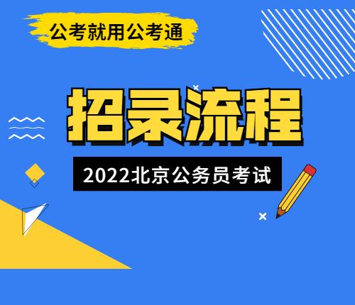 2022京考招录流程